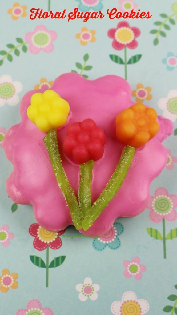 Floral Sugar Cookies