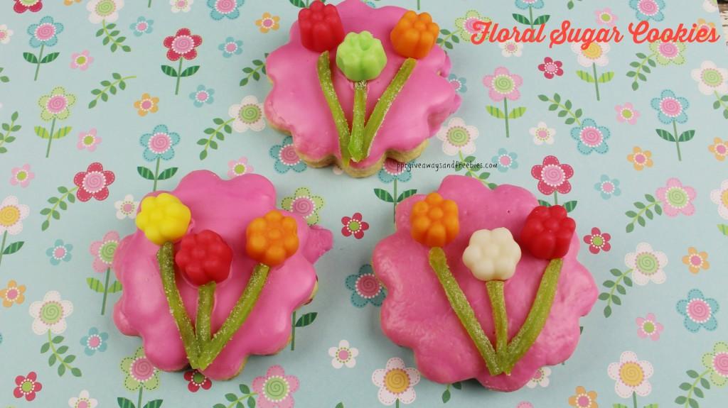 Floral Sugar Cookies-2