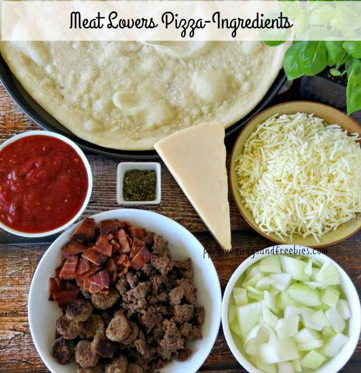 Meat Lovers Pizza-Ingredients