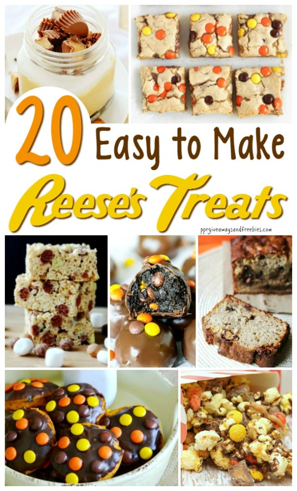 20 Easy to Make Reese's Treats