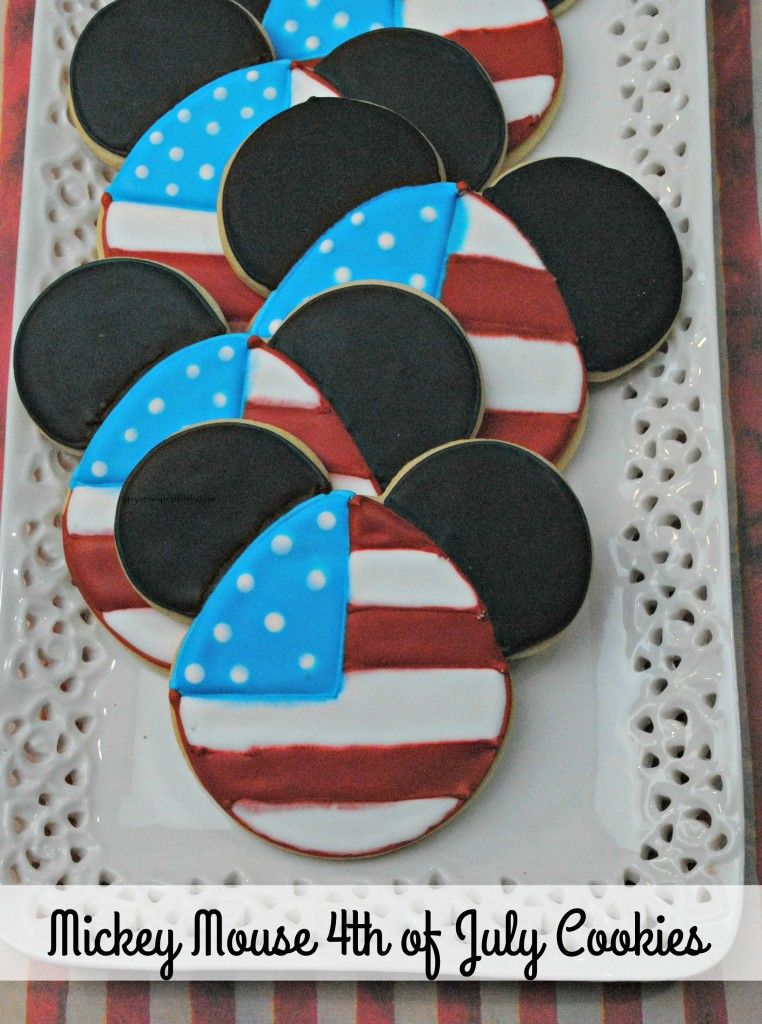 Mickey Mouse 4th of July Cookies 1