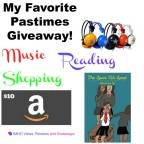 My Favorite Pastimes Giveaway