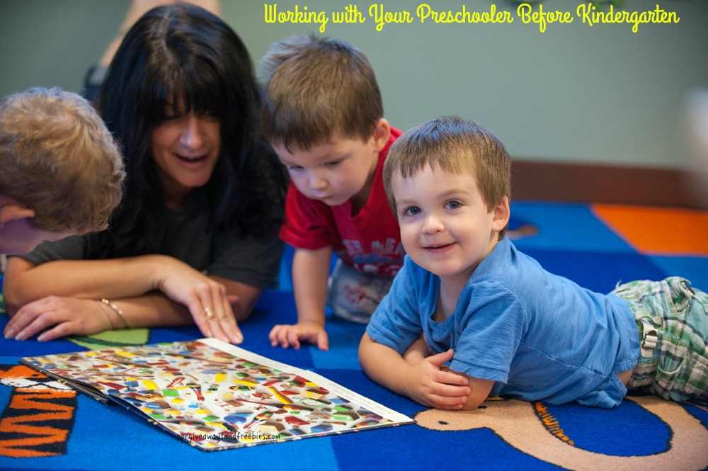 Working with Your Preschooler Before Kindergarten