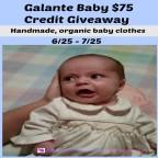 Galante Baby $75 Credit