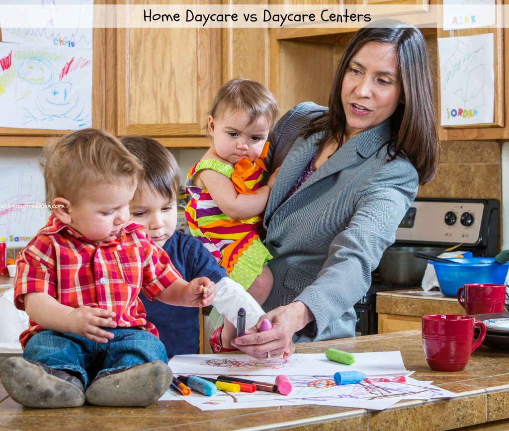 Home Daycare vs Daycare Centers