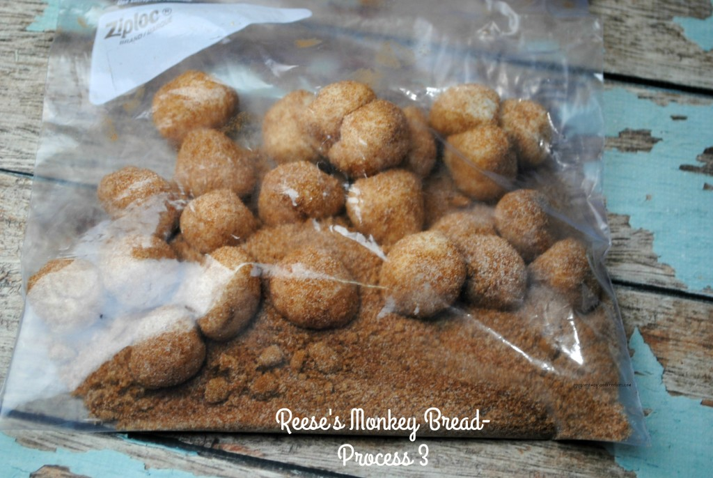 Reese's Monkey Bread-Process 3