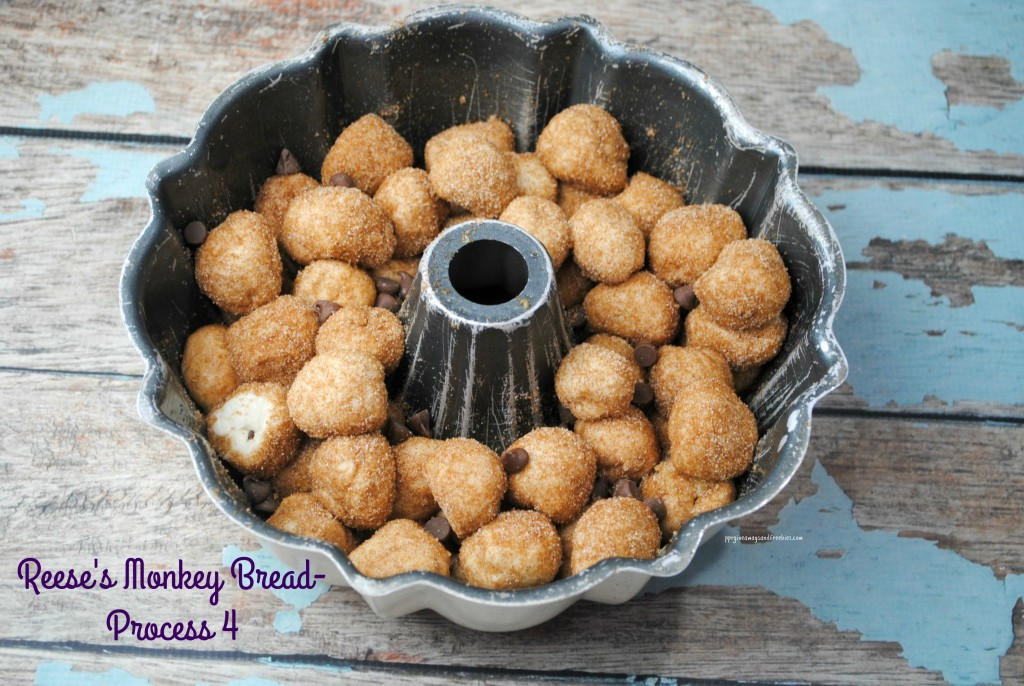 Reese's Monkey Bread-Process 4