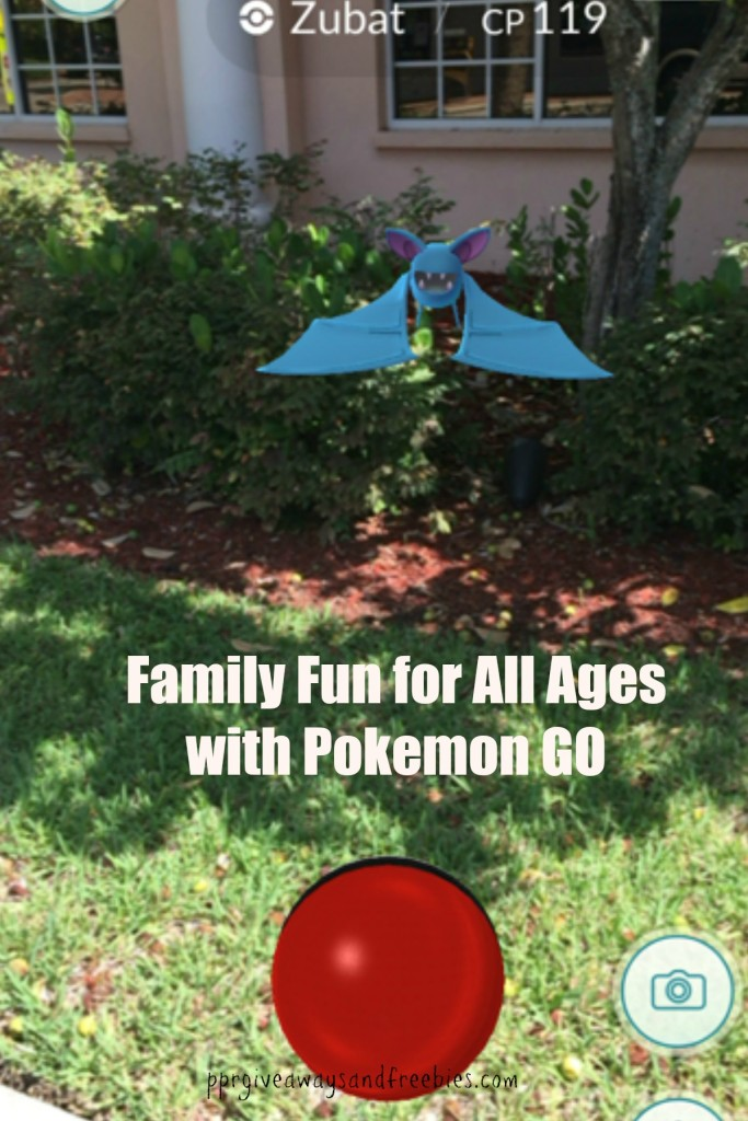 Zubatneartree-Family Fun for All Ages with Pokemon GO