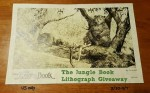 Jungle Book Lithograph Giveaway