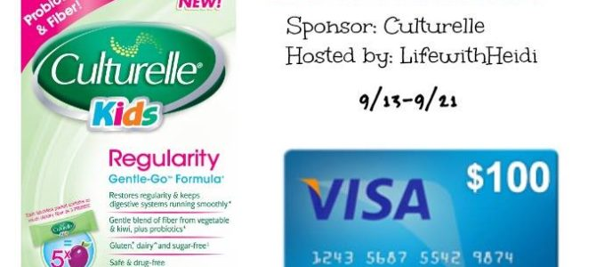 Culturelle $100 Visa Card Giveaway