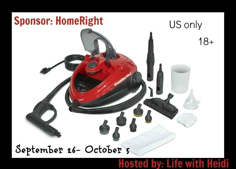 HomeRight Autoright Steam Machine Vacuum Giveaway