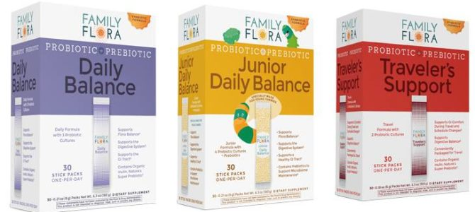 Family Flora Daily Balance Giveaway