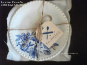 Appetizer Plates-Eat Share Love Collection-Pavilion Gift