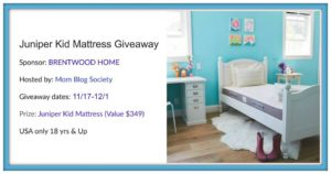 juniper kid mattress giveaway