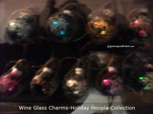 Wine Glass Charms-Holiday Hoopla Collection-Pavilion Gift