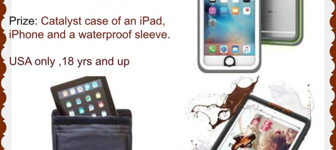 Catalyst Case  iPad, iPhone and Waterproof Sleeve Giveaway