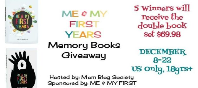 Me & My First Years Animal and Monsters Memory Books Giveaway