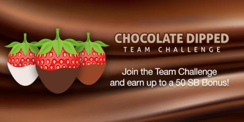 Chocolate Dipped Team Challenge