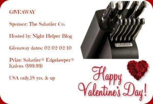 Sabatier EdgeKeeper Knives Giveaway -Image