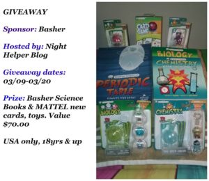 Basher Science Books & MATTEL Prize Pack
