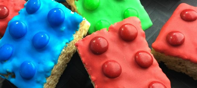 Lego Rice Krispie Treats