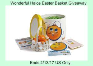 Wonderful Halos Easter Basket Giveaway