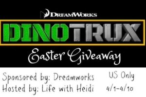 DinoTrux Easter Giveaway
