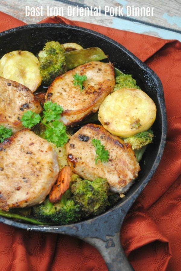 Cast Iron Oriental Pork Dinner- Final 2