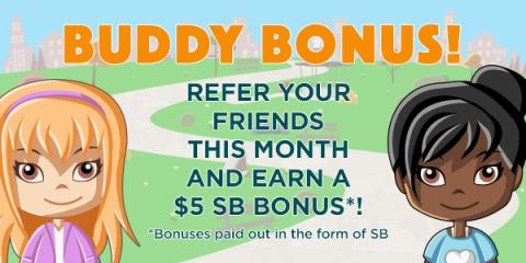July Buddy Bonus