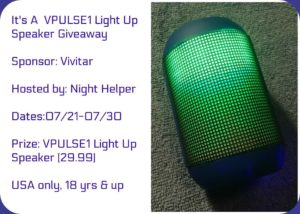 VPulse1 Light Up Speaker