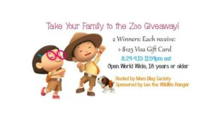 Take Your Family to The Zoo Giveaway
