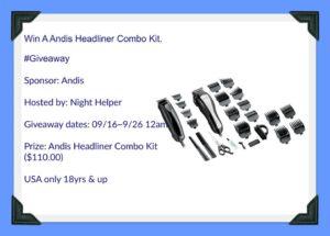 Andis Headliner Combo Kit