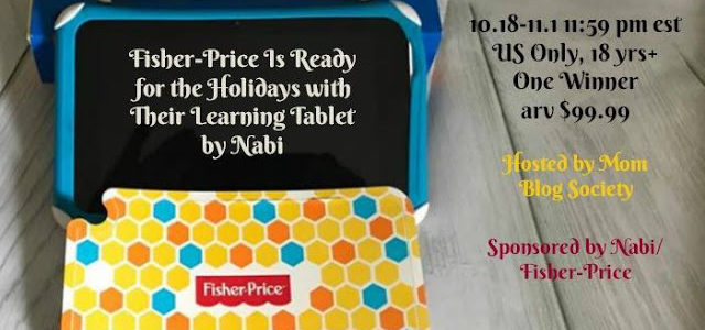 Fisher-Price Nabi Learning Tablet Giveaway