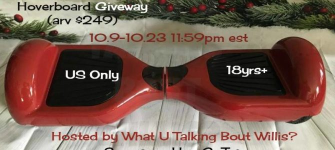 GoTrax Hoverfly Hoverboard Giveaway