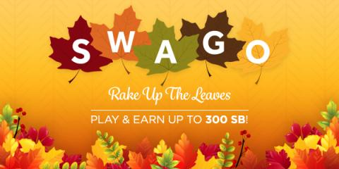 Swago Rake Up the Leaves October Spin n Win