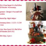 How Sweet It Id Red Wine Gift Basket Giveaway
