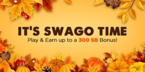 November Swago with Spin and Win