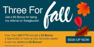November Referral Bonus-Swagbucks