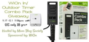 WiOn In Outdoor Timer Combo Pack Giveaway