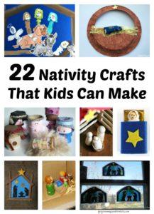 22 Nativity Crafts That Kids Can Make