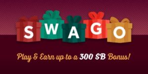 December Swago with Spin and Win