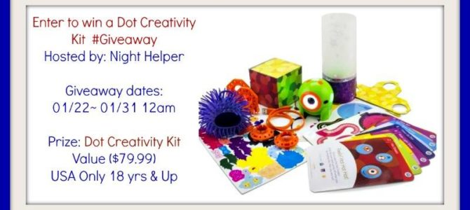 Dot Creativity Kit Giveaway