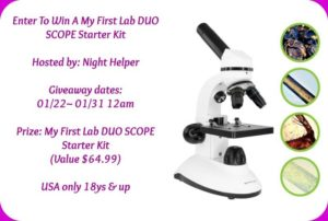 My First Lab DUO SCOPE Starter Kit